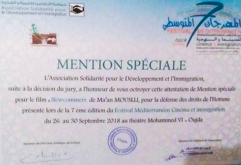 """""""Newcomers"""" gewinnt Sonderpreis für Menschenrechte"""